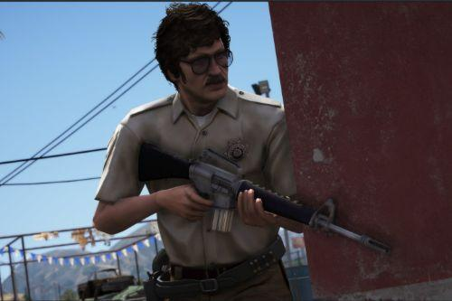 Retro County Officer LSSD 70's