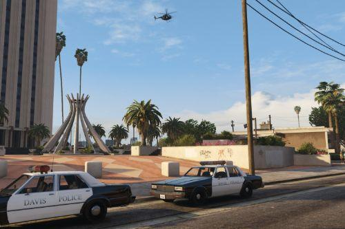 Retro Davis Police Department Liveries [Lore Friendly]