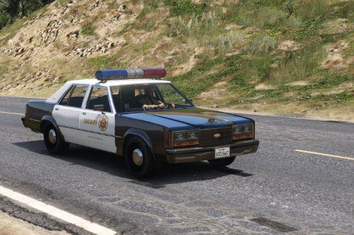 Retro Los Santos County Sheriff liveries [Lore Friendly]