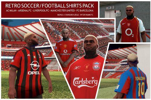 Retro Soccer/Football Shirts Pack - Franklin