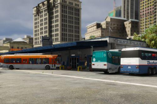 Revamped DASHOUND bus stop [Menyoo]