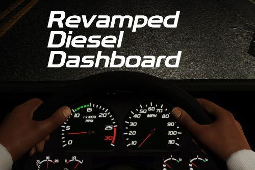 Revamped Diesel dashboard (Vanilla Edit)