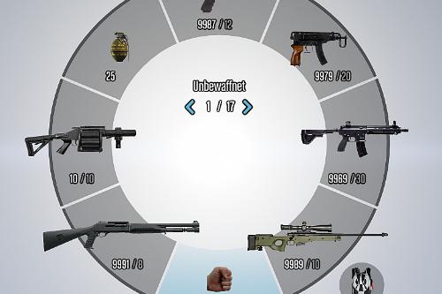 Revamped Weapon Wheel