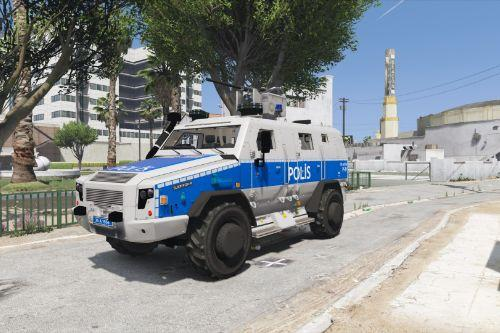 Rheinmetall Survivor R 4×4 - Turkish Riot Skin