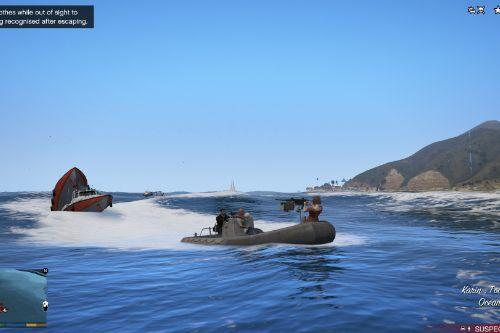 RHIB Armed Military Boat 0.1 [ALPHA]