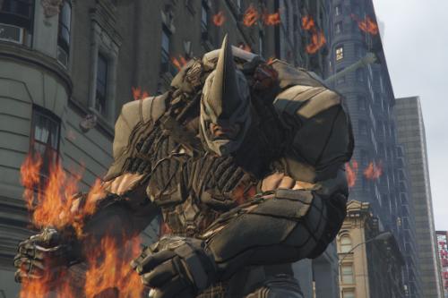 Rhino Spider-man PS4