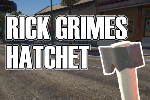 Ricks Grimes Hatchet (The Walking Dead)