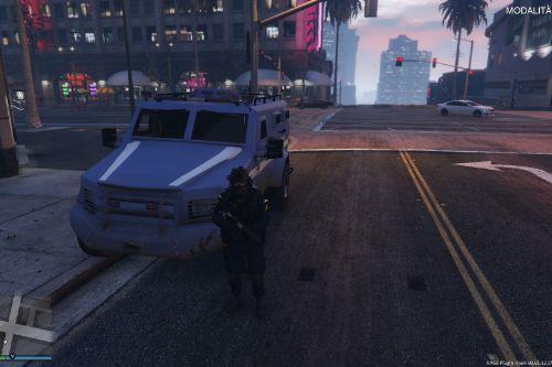 Riot Blindato - Polizia
