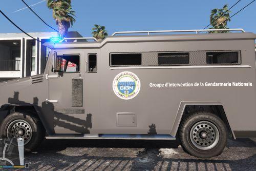 Riot French gendarmerie GIGN [noELS-ELS]