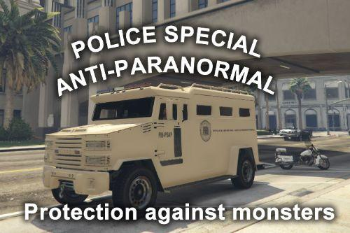 Riot Police Anti Paranormal (Paintjob)