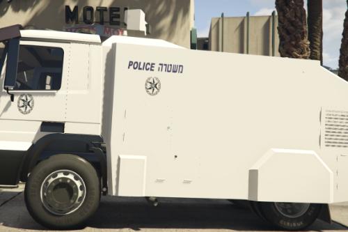 Riot vehicle israel | רכב לפיזור הפגנות