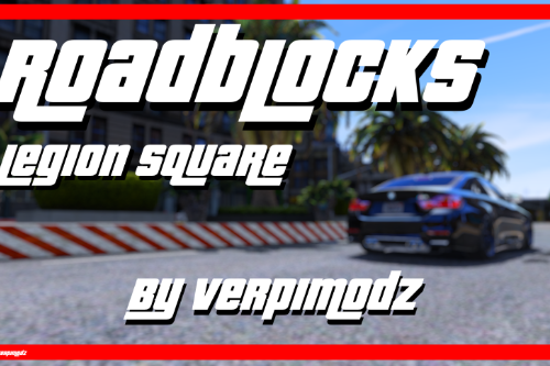 Roadblocks MeetingPoint [Add-On | FiveM | RageMP]