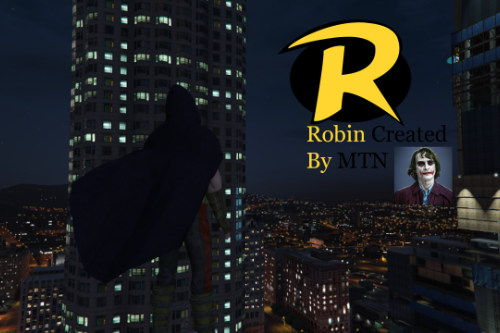 Robin: Arkham City W/Cloth.