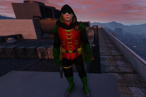 Robin from injustice 2 IOS - Retexture -DAMIAN