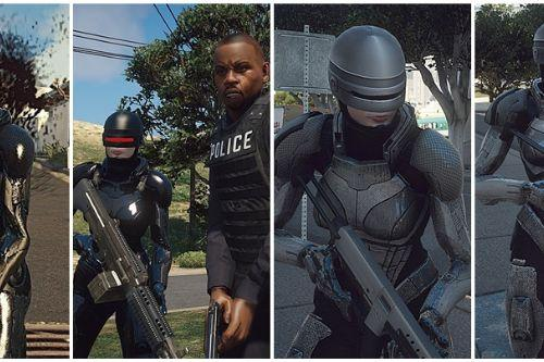 Robocop Female [Add-On Ped / Replace]
