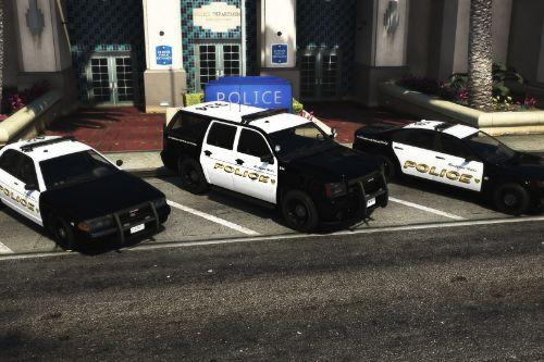 Rockford Hills Police Department Vehicle Pack [Add-On]