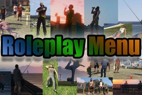 Roleplay Menu (for Singleplayer)