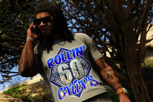 Rollin' 60s Crips Shirt