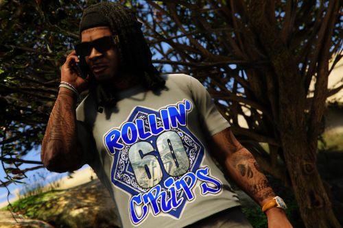 Rollin' 60s Crips T-Shirt (Franklin)