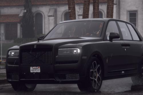 Rolls Royce Cullinan Black Badge [Add-On / Replace | FiveM | LODs]