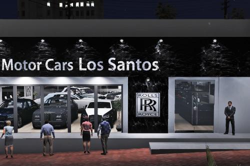 Rolls Royce Dealership [YMAP]