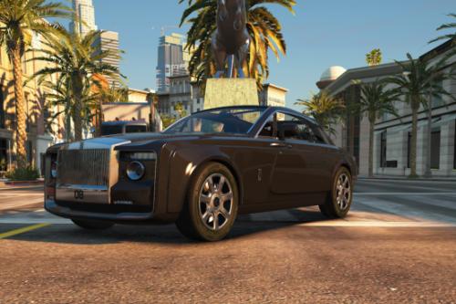 Rolls Royce Sweptail [Addon| Fivem]