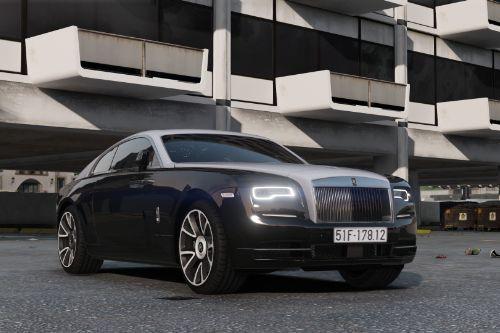 Rolls-Royce Wraith 2019 [Add-On | Animated]