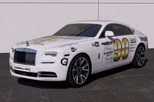 [Rolls-Royce Wraith 2019]Gumball 3000 livery