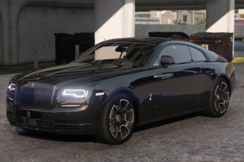 2019 Rolls-Royce Wraith Black Badge [Add-On | Logo Animated]