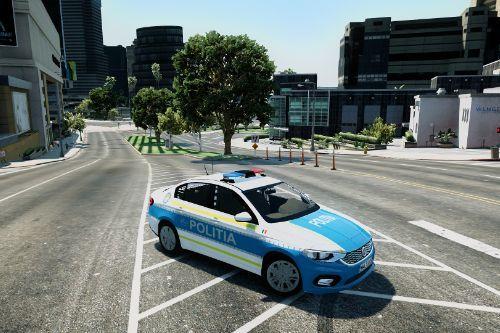 Romania Police FIAT EGEA [NEW DESIGN]