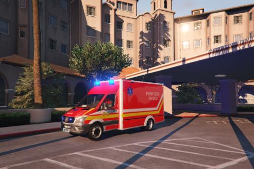 Romanian ambulance | SMURD [ELS]
