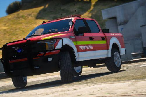 Romanian Fire Department Ford F150