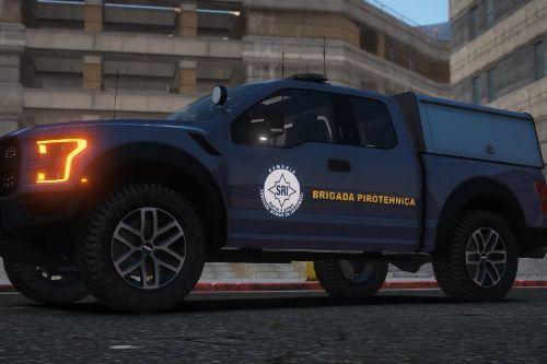 Romanian Intelligence Service Ford Raptor