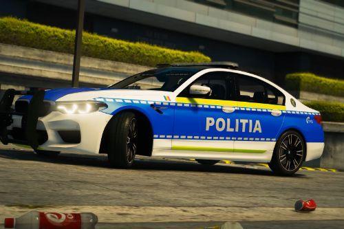 Romanian Police BMW M5