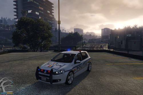 Romanian Police Volkswagen Golf / Politia Romana