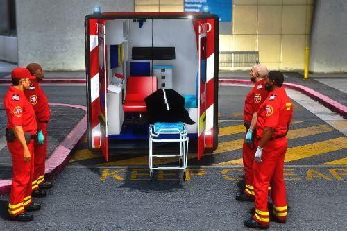 Romanian SMURD Ambulances Pack