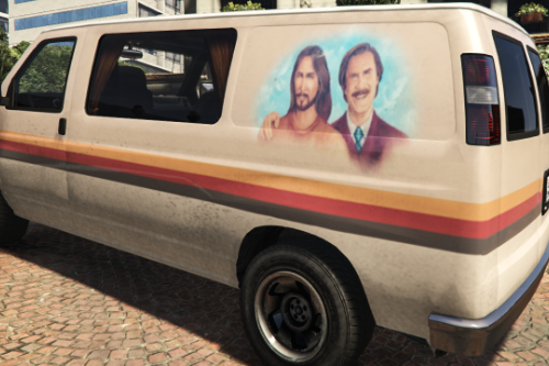 "Ron Burgundy's Van From ""Anchorman 2"""
