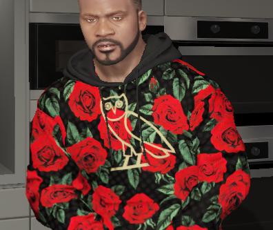 Rose water OVO hoodie
