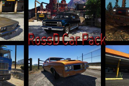 RossD Car Pack (Car Pack) [Add-on Versions]