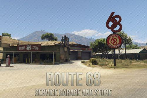 Route 68 Service garage and Store