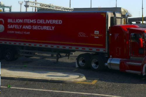 UK Lorries(UK, British lorry, Royal Mail, Hermes, DHL, Eddie Stobart)