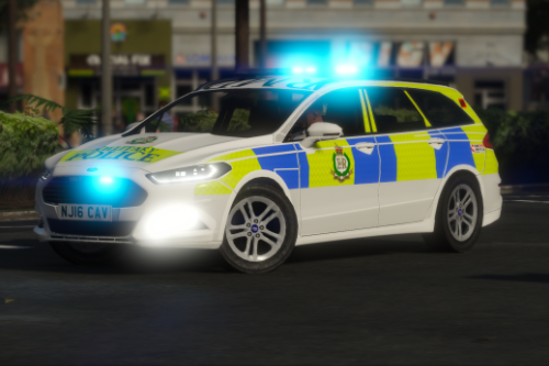 Royal Military Police 2016 Ford Mondeo Estate IRV