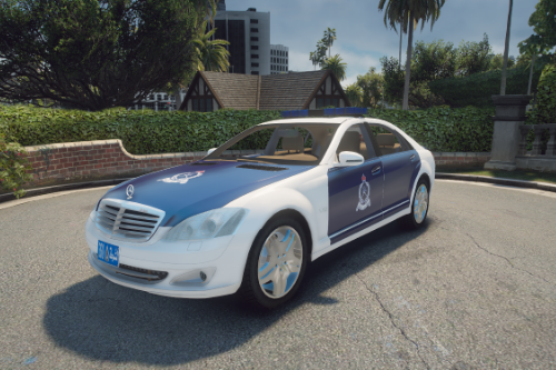 Royal Oman Police 2008 Mercedes-Benz S 600 L [REPLACE] [TEMPLATE] [ELS]