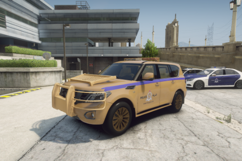 Royal Oman Task Police Nissan Patrol Platinum 2014 [UNLOCKED] [TEMPLATE] [REPLACE]