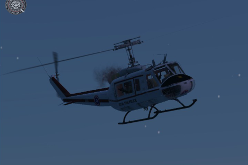 Royal Thai Police Helicopter UH-1H Beta