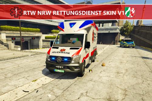 RTW NRW Rettungdienst Skin V1.0