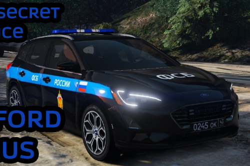 2019 Ford Focus FSB (ФСБ) Russian Secret Service
