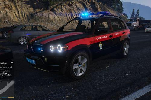 BMW x5 e70 Investigative Committee (Следственный комитет) Police