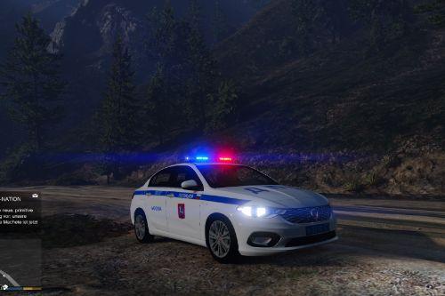 Fiat Egea Russian Traffic Police (ДПС)