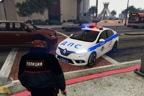 Renault Megane ДПС (Russian Traffic Police)